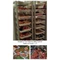 Carrello trasporto vassoi banco carne