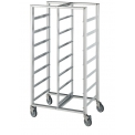 Trolley to carry boxes or trays