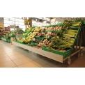 Espositori serie XP - esempio di utilizzo in supermercato